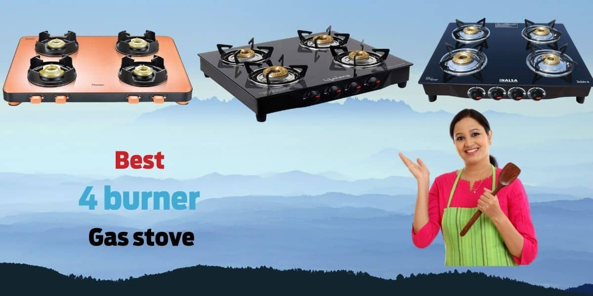 Best 4 burner gas stove