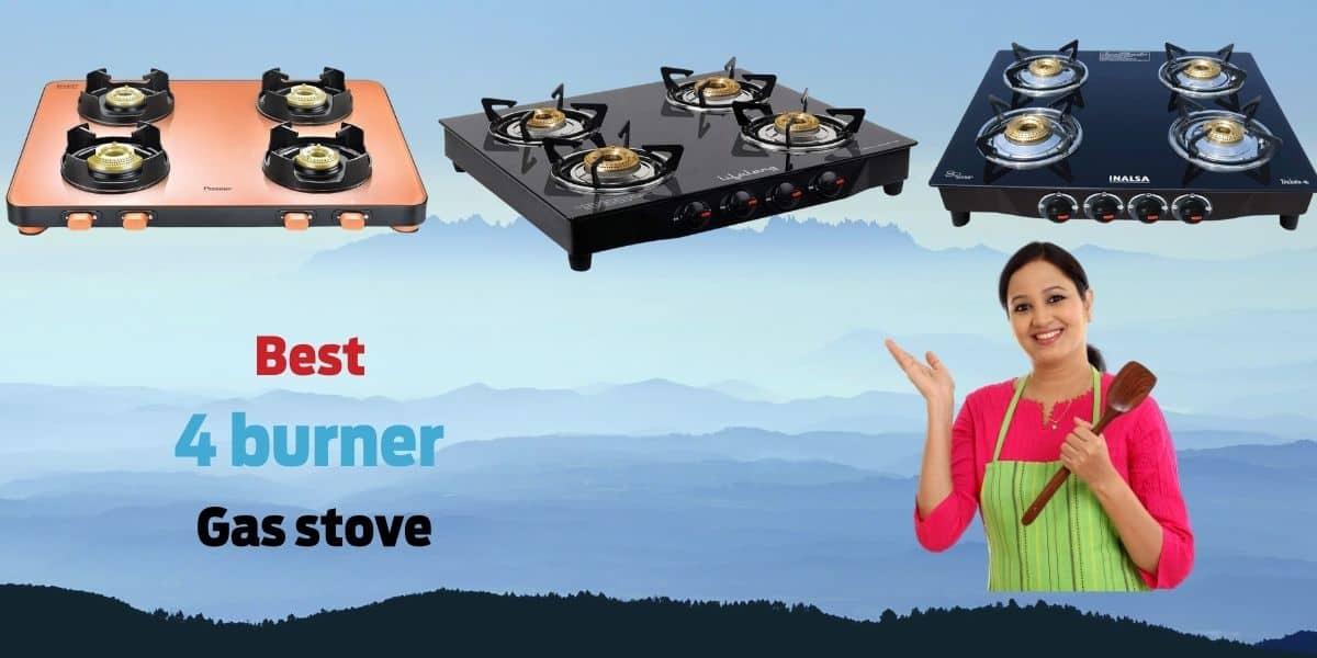 Best 4 burner gas stove