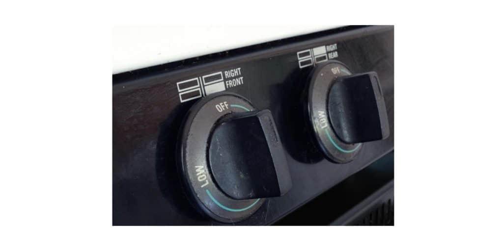 how to fix gas stove knob