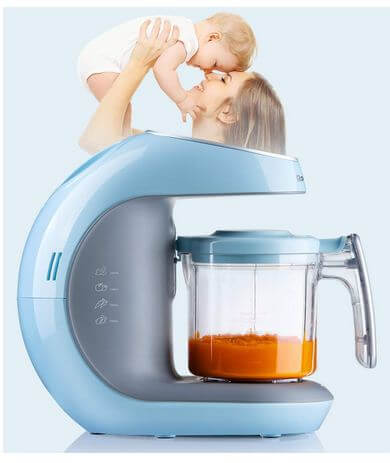Kiddale 5in1 Smart Digital Baby Food Processor
